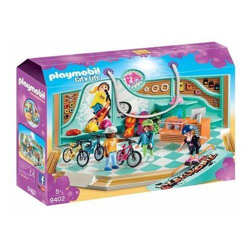OKAZJA - Playmobil Zestaw figurek sklep rowerowy i skateboardowy - darmowa dostawa od 199 zł!!!
