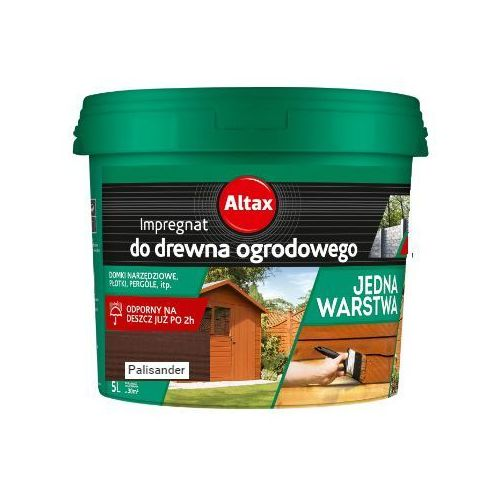 ALTAX- impregnat do drewna ogrodowego, palisander, 5 l