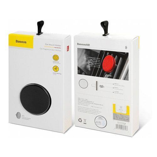 Baseus car fragrance fabric artifact odświeżacz powietrza zapach samochodowy na kratkę wentylacyjną nawiew czarny (suxun-by01) (6953156280793)