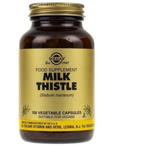 Kapsułki Solgar Milk Thistle (Ostropest Plamisty) - 100 kapsułek