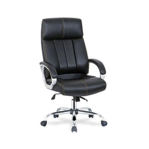 Fotel gabinetowy obrotowy HALMAR DIESEL - eko-skóra