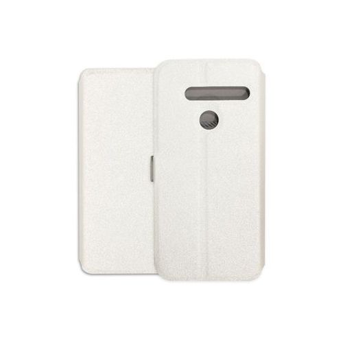 Lg g8 thinq - etui na telefon wallet book - biały marki Etuo wallet book
