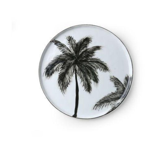 """Hk living porcelanowy talerzyk w palmy z serii """"dżungla"""" ace6851"""