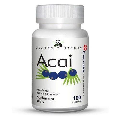 Jagody ACAI Berry 500 mg / 100 kaps na odchudzanie (5902768597004)