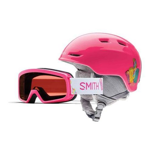Kask - zoom jr/rascal pink popsicles (xiz) rozmiar: 48/53 marki Smith