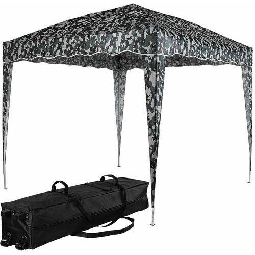 Instent ® Nożycowy pawilon namiot ogrodowy 3x3 miejski moro - jasny moro (kamuflaż miejski)