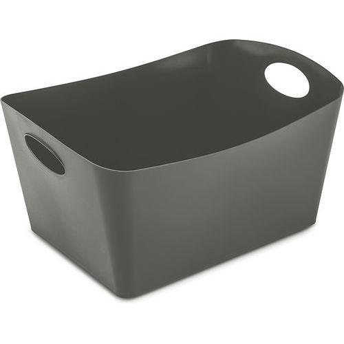 Koziol Miska łazienkowa boxxx, pojemnik, rozmiar l - kolor ciemnoszary, (4002942433577)