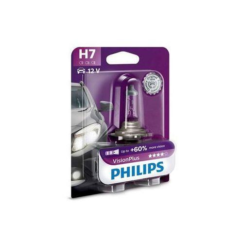 Żarówka samochodowa Philips VISIONPLUS 12972VPB1 H7 PX26d/55W/12V