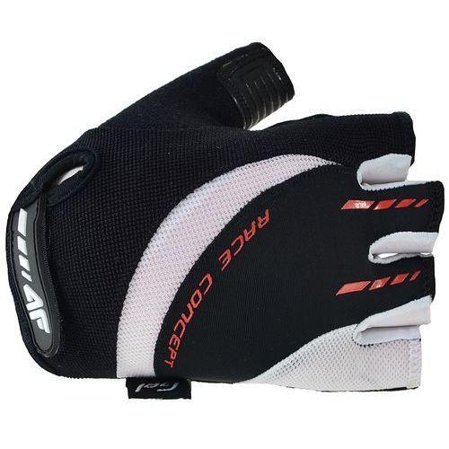 Rękawiczki rowerowe 4F RRU003 (Rozmiar:: L, Kolor:: Biały) (5901236590271)