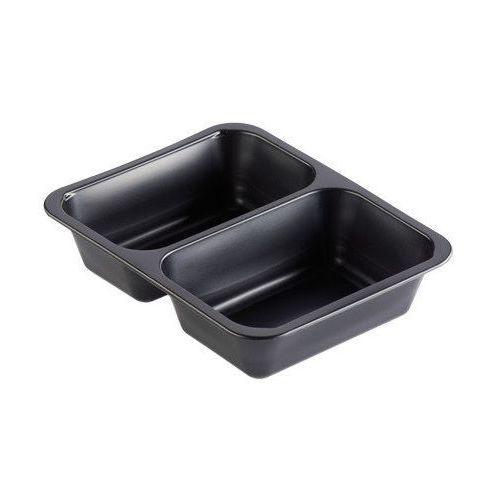 Tacka cateringowa PP | czarna | 227x178x50mm | 216szt.