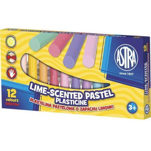 Astra papiernicze Plastelina pastelowa 12 kolorów o zapachu limonki