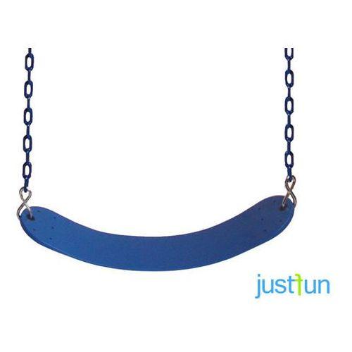 Huśtawka elastyczna na łańcuchu powlekanym - niebieski marki Just fun