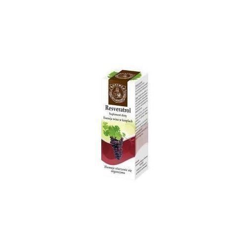 Resveratrol - esencja wina w kroplach 20 ml, postać leku: krople