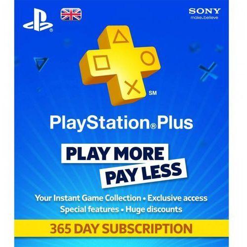 OKAZJA - Sony PlayStation Plus Card 365 Days 9261537, 1_222672