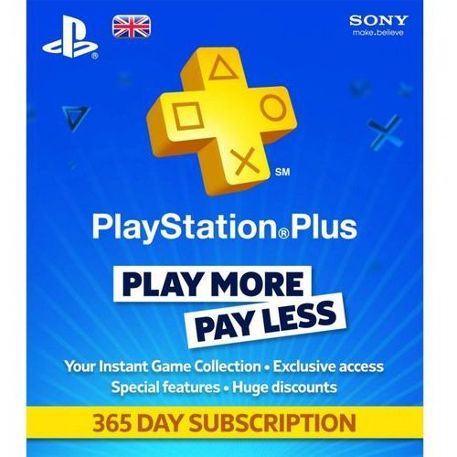 Sony PlayStation Plus Card 365 Days 9261537, 1_222672