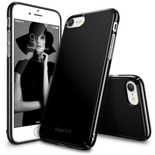 Rearth Ringke Slim Iphone 7 - Gloss Black, kolor czarny