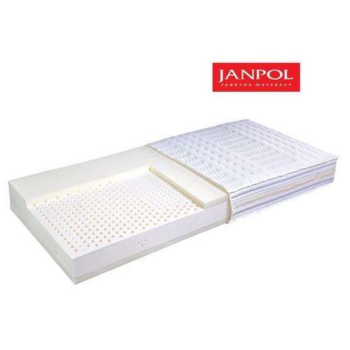 JANPOL POSEJDON - materac lateksowy, piankowy, Rozmiar - 100x200, Pokrowiec - Jersey Standard WYPRZEDAŻ, WYSYŁKA GRATIS
