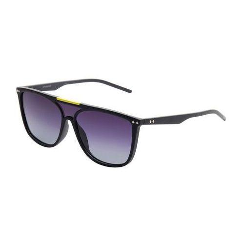 Okulary przeciwsłoneczne męskie POLAROID - 233622-63, kolor żółty