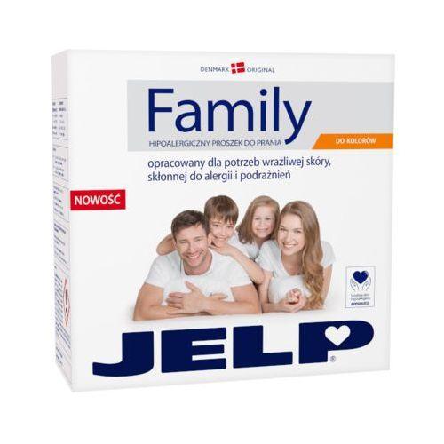 Danlind Jelp 2,24kg family hipoalergiczny proszek do prania kolorowych tkanin (32 prania)