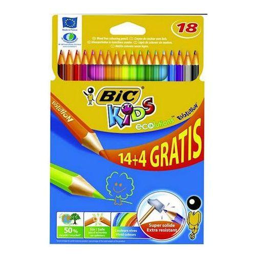 Kredki bic evolution niełamliwe 18 kol x1 marki Kredki ołówkowe