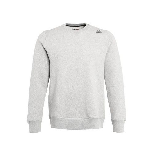 Reebok CREW Bluza medium grey heather, kolor szary