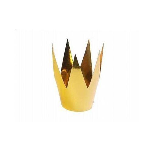 Korona królowej Party - złota - 1 szt. (5901157440815)
