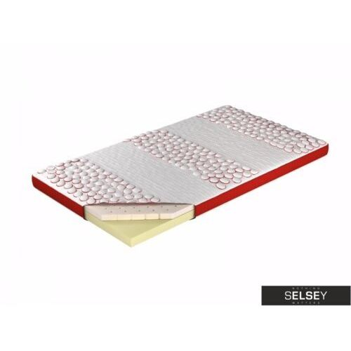 SELSEY Materac nawierzchniowy Saffron memory foam - wysokość 9 cm