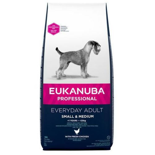 EUKANUBA EveryDay Small & Medium Chicken 16,5 kg - DARMOWA DOSTAWA OD 95 ZŁ!