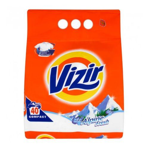 Procter & gamble Proszek do prania vizir alpejska świeżość deep down cleaning 2,85 kg (38 prań)