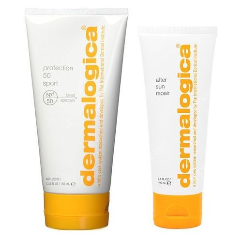 Dermalogica protection sport spf 50 and after sun repair | zestaw do opalania: krem z filtrem spf 50 156ml + balsam po opalaniu 100ml