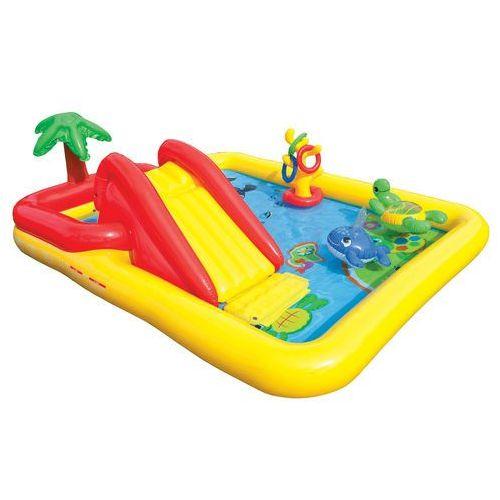 basen dmuchany plac zabaw zjeżdzalnia ocean 57454 marki Intex