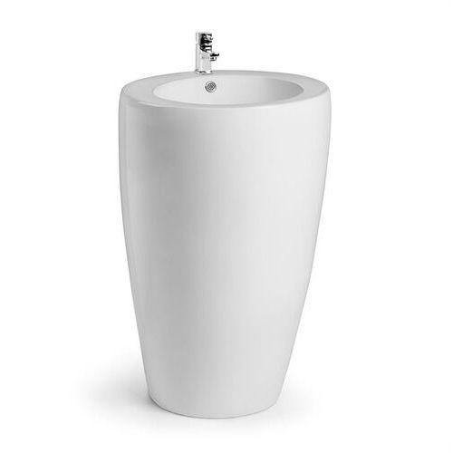 Besoa St. Lucia umywalka wolnostojąca ceramika materiały mocujące biała