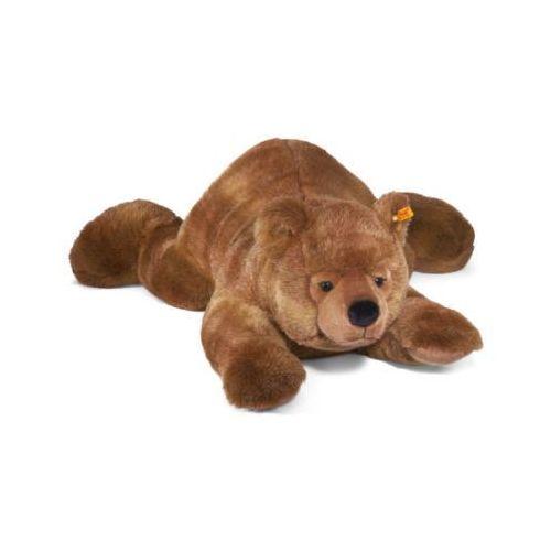 Steiff  urs maskotka niedźwiedź brunatny 120cm, leżący (4001505069635)