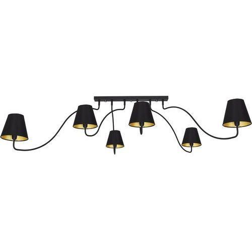 Plafon Nowodvorski Swivel 6560 6x7W E14 czarny, kolor Czarny