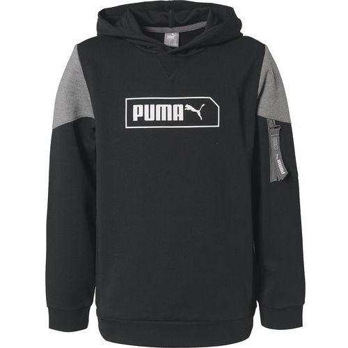PUMA Bluza sportowa 'NU-TILITY' szary / czarny / biały (4060981431329)