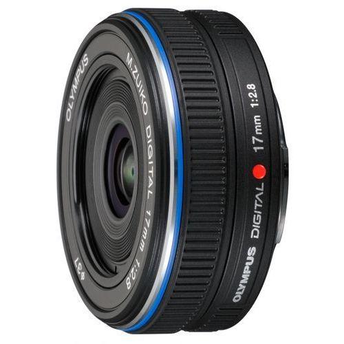 EDYCJA SPECJALNA OLYMPUS M. 17 mm F2.8 PRO czarny obiektyw mocowanie Micro 4/3, N4290792