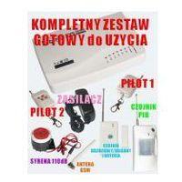 Security products ltd. Alarm bezprzew. z powiadom. na gsm + 2 czujki itd.