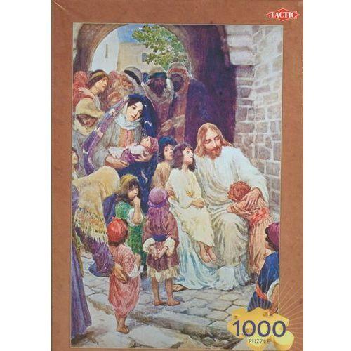 Tactic Solomon puzzle jezus błogosławi dzieci 1000 elementów (6416739400730)