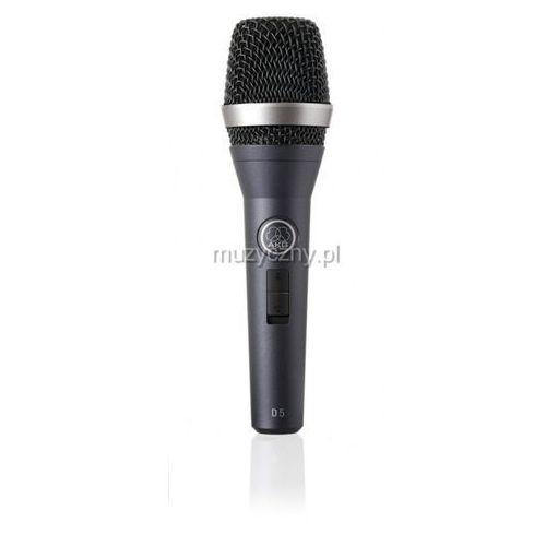 d5s mikrofon dynamiczny z wyłącznikiem marki Akg