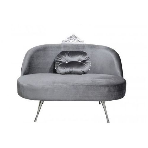Sofa glamour z koroną marki Hb