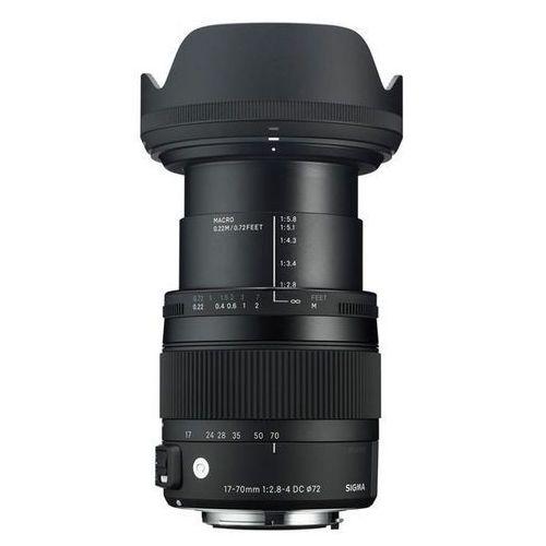 Obiektyw SIGMA Digital C 17-70/2.8-4 DC Macro OS HSM Nikon + DARMOWY TRANSPORT! (0085126884550)
