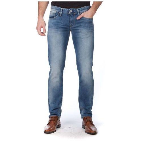 Pepe Jeans jeansy męskie Hatch 32/34 niebieski (8434341445978)
