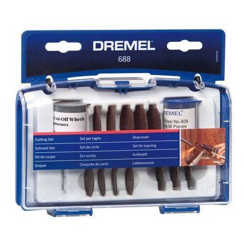 Tarcza do cięcia Dremel 688, zestaw, 69 szt., 26150688JA