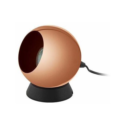 Lampa stołowa 1xGU10 miedziana kula