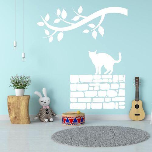 Naklejka z weluru dla dzieci kot 2370 marki Wally - piękno dekoracji