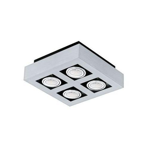 Eglo Plafon led (ciepła barwa światła) loke1 4x3w gu10 91355 (9002759913557)