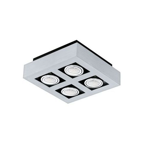 Eglo Plafon led (ciepła barwa światła) loke1 4x3w gu10 91355