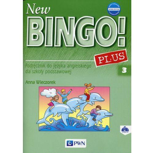 New Bingo! 3 Plus Nowa edycja Podręcznik + 2CD - Wysyłka od 3,99, oprawa miękka