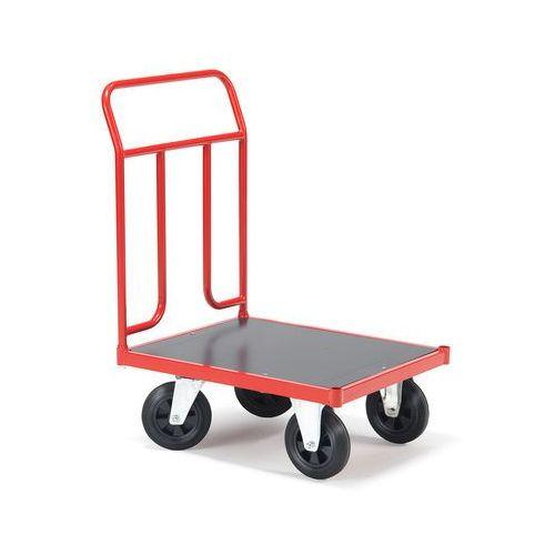Wózek transportowy o wym 500x700mmtyp kół: guma pełna marki Aj