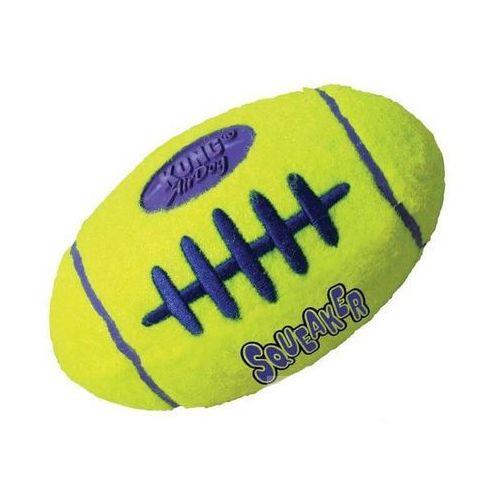 Kong piłka owalna squeaker z piszczałką rozmiar m